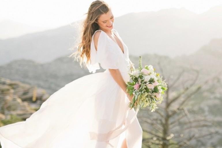 5 Affordable Wedding Dresses // by Rebekah Houle