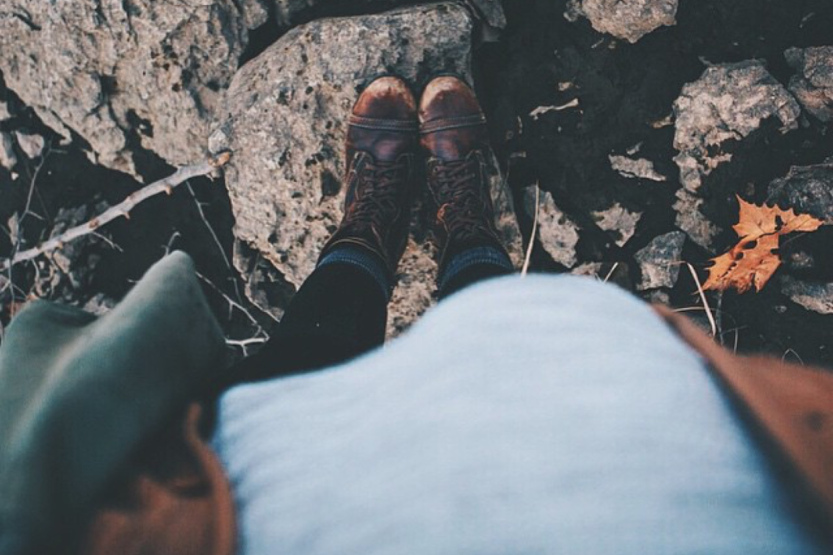 Standing on the Rock // by Kendra Cagle